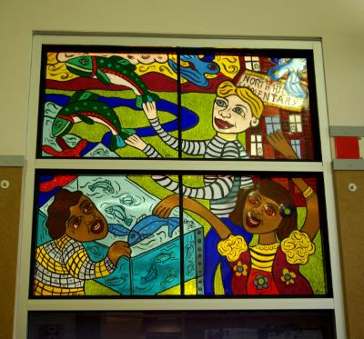 North Hill Elementary detail #2