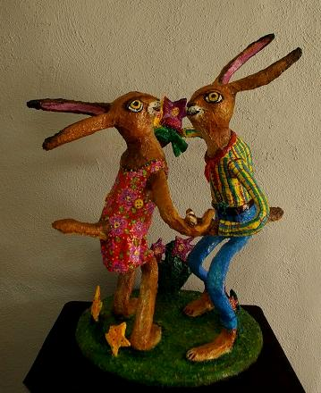 Dance of the Jack Rabbit Lovers