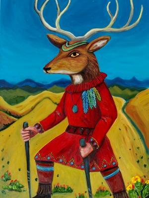 The Deer Dancer