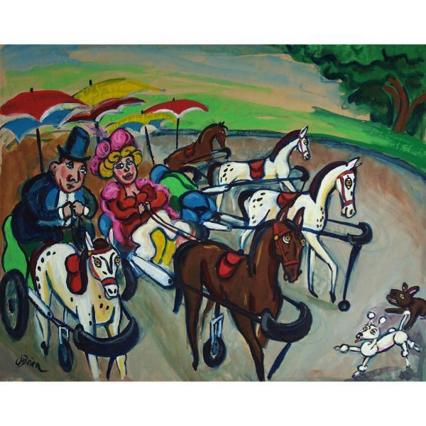 The Pony Carts of Avignon