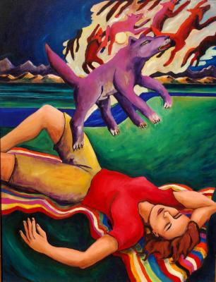 Purple Dog Dream