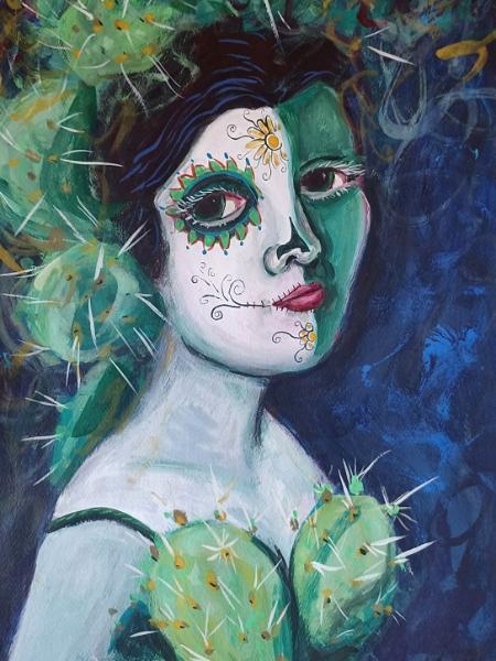 Her Cactus Dress